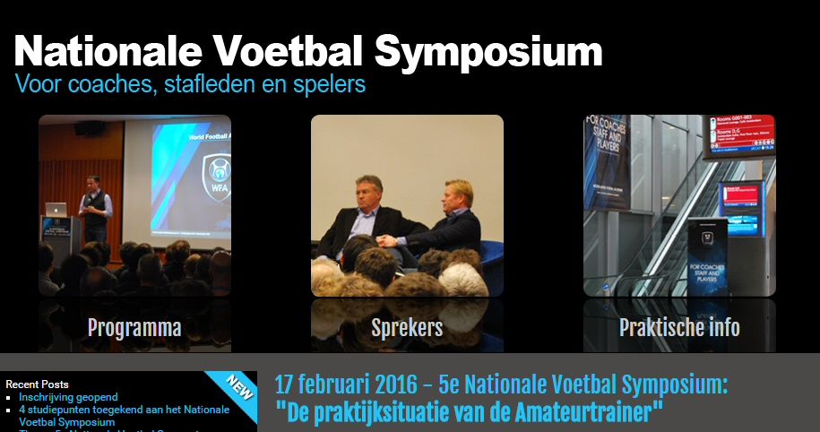 Nationaal Voetbal Symposium 17 februari
