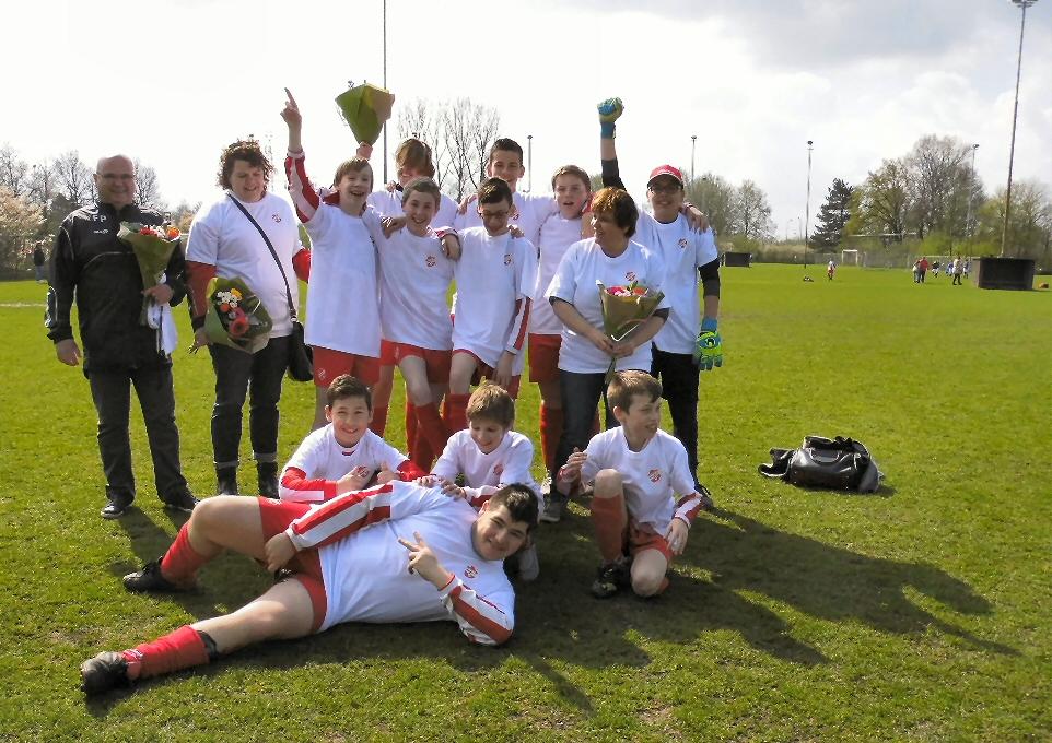 Rood-Wit '62 FunPlay team Kampioen 2016