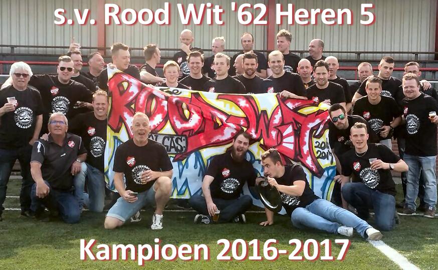 Heren 5 Kampioen 2016-2017