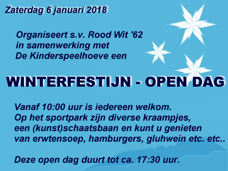 Winterfestijn/open dag