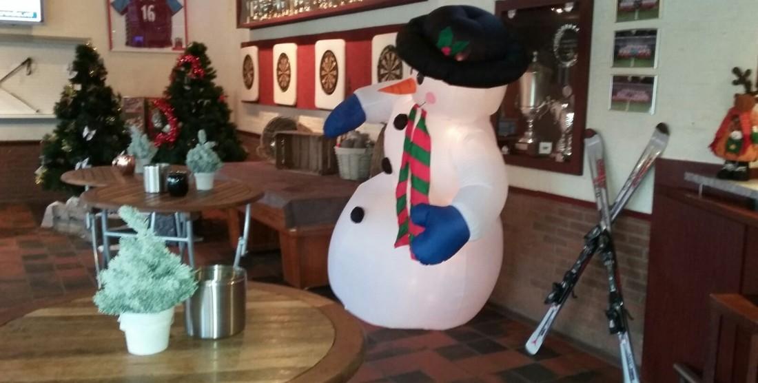 Impressie winterloop festijn feestavond