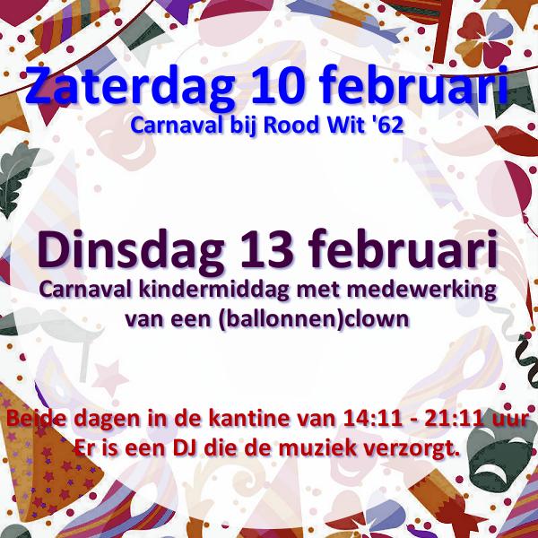 za 10 & di 13 februari Carnaval