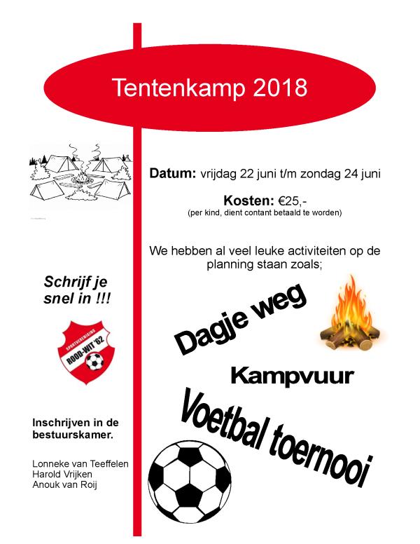 Info Tentenkamp 2018
