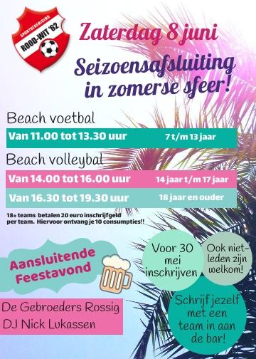 Zomer Beach Festijn!