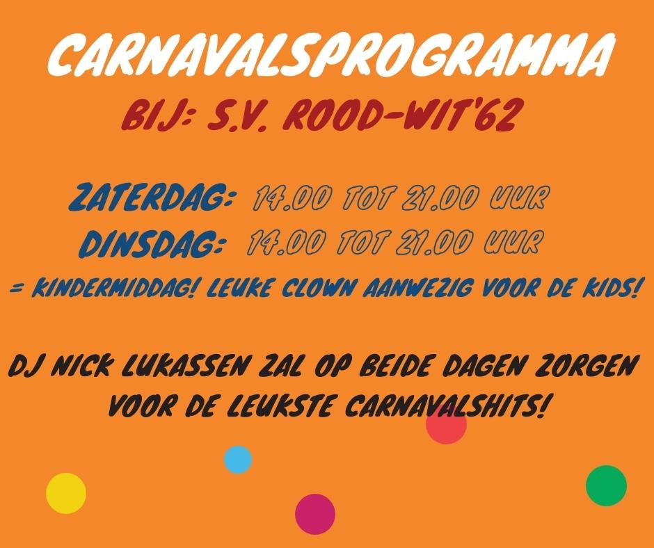 Carnavalsprogramma