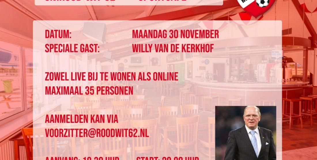 Sportcafe met Willy van de Kerkhof