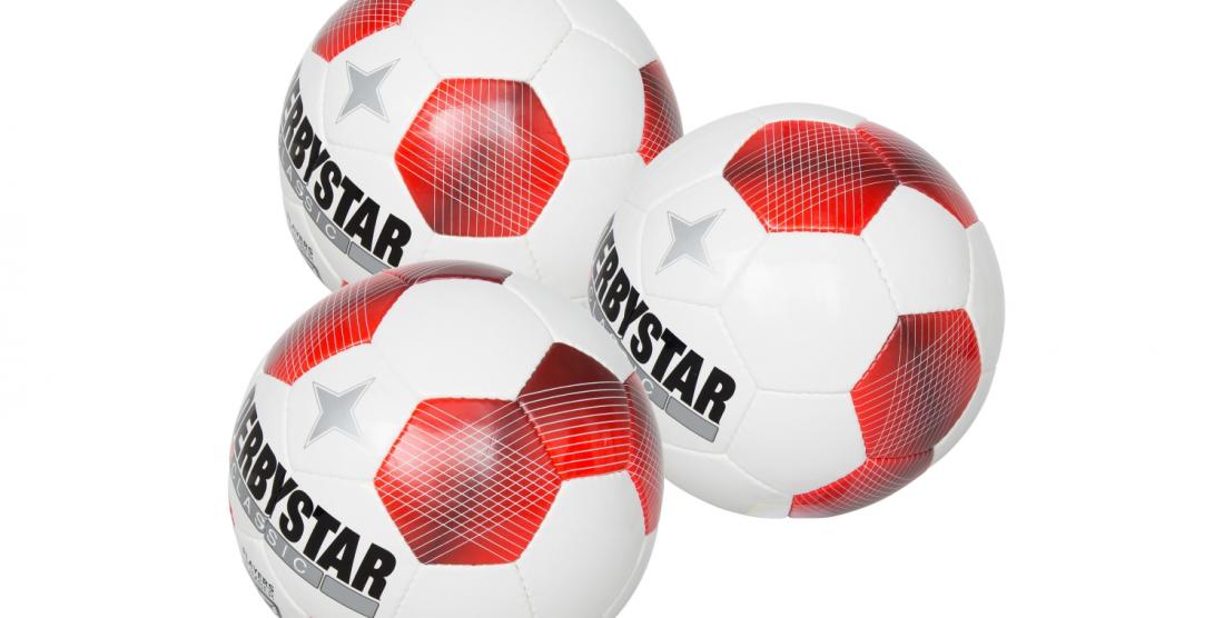 Gemeente Helmond schenkt Derby Star ballen