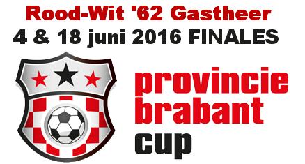 18 juni finales PB Cup bij Rood-Wit