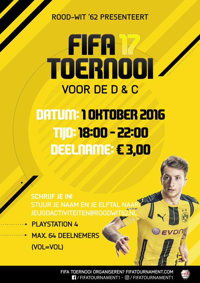 FIFA 17 PLAYSTATION 4 toernooi