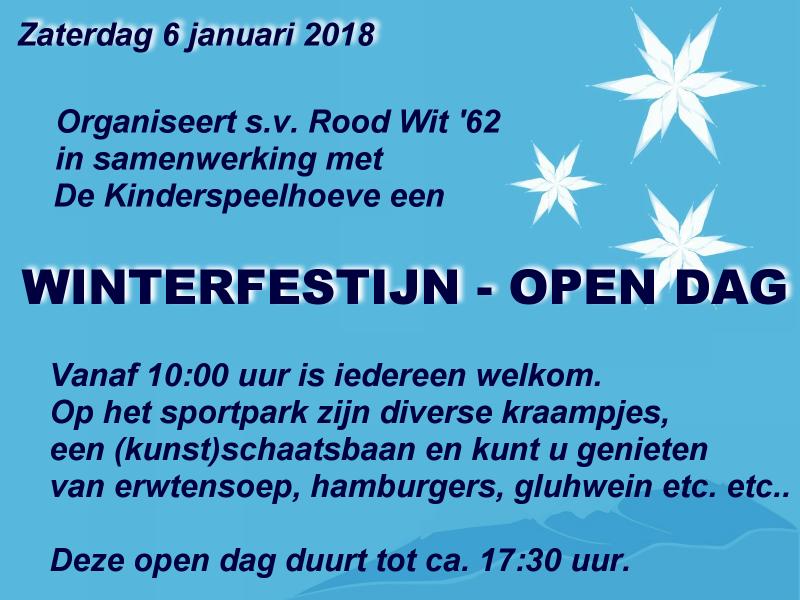 Winterfestijn/open dag