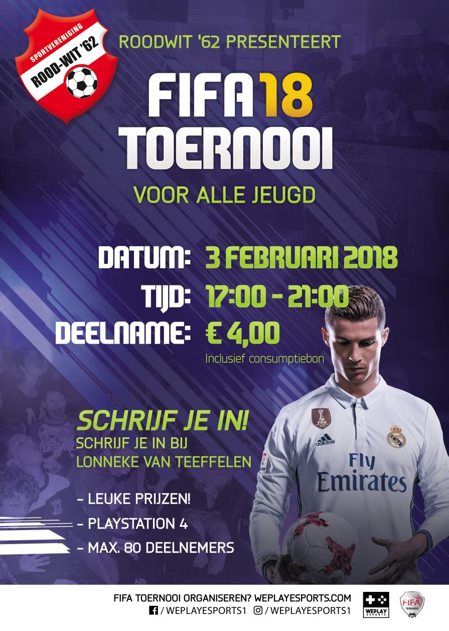 Zaterdag 3 februari FIFA 18